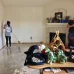 Removal of carpet from our living room.